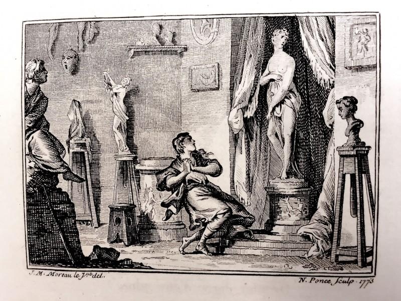 Pygmalion and Galathée kopia
